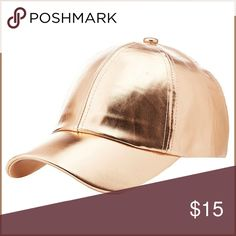 🆕 Mauve Faux Leather Baseball Hat Gorgoeus! BRAND NEW! - adjustable snap closure // tags: caps hats cap amazing unique womens women girl girls unisex interesting pretty beautiful beauty feminine pink golds metal shiny shine shimmer white dad wear sports sporty sport chic fashion classic hair awesome neat rad cool punk rock travel vacation trends trend trendy trip girly statement style stylish rebel casual day summer spring fun flirt flirty party hang fake bnwot nwot adjust alternative…