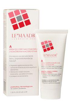 Le'Maadr A Krem do cery naczynkowej z komórkami macierzystymi 40 ml