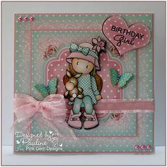 Crafting with Cotnob: Birthday Girl Chloe
