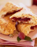 Tea at Prim Rose Hill: Black Raspberry Buttermilk Scones