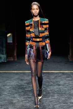 Balmain Fall 2015 Ready-to-Wear Fashion Show - Tami Williams (Elite)