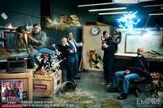 Look At This Fantastic Image From Empire Magazine's 30th Anniversary Gremlins Reunion