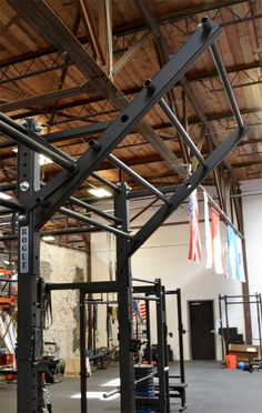 Flying Pull-Up Bar - Infinity Rig Add-On - Rogue Fitness