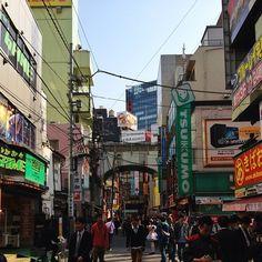 The arcade streets of Akihabara