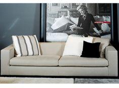 Upholstered fabric sofa with removable cover SMILE Smile Collection by FLEXFORM | design Ufficio Tecnico Flexform