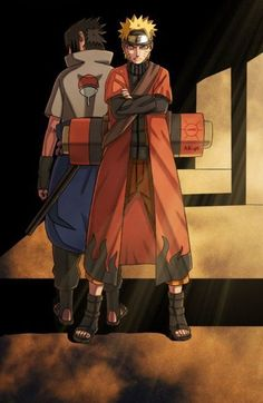 Naruto Shippuden || Naruto and Sasuke are so badass
