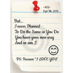 BECAUSE I LOVE YOU MY FUTURE HUSBAND
