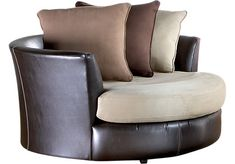 Shop for a Gregory Swivel Chair at Rooms To Go. Find Chairs that will look great in your home and complement the rest of your furniture.