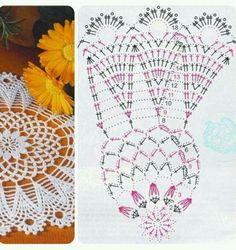 Crochet Dreamcatcher, Crochet Mandala, Crochet Doilies, Crochet Stitches Chart, Thread Crochet, Knit Crochet, Crochet Collar, Doily Patterns, Irish Lace