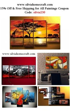 Hand painted group paintings for home decoration. Large wall art, canvas painting for bedroom, dining room and living room. #painting #art #wallart #walldecor #homedecor #homedecoration #grouppainting #groupart #canvaspainting #abstractart Multiple Canvas Paintings, Canvas Paintings For Sale, Buy Paintings, Abstract Canvas Art, Oil Painting Abstract, Acrylic Paintings, Modern Paintings, Acrylic Art, Watercolor Painting