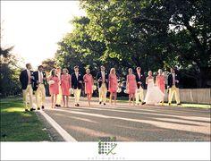 fun wedding colors
