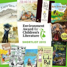 Childrens Award Shortlist - environmental themes
