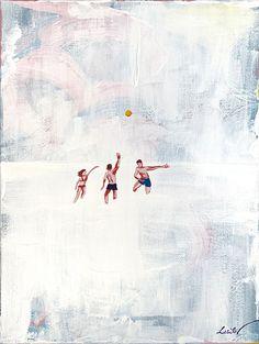 """Sun in the Milk"" / Acrylic, canvas / 40 x 30 cm / 2021 | #españa #barcelona #summervibes #abstract #artwork #abstractart #fineart #sky #sea #white Sky Sea, Graphic Design Projects, Acrylic Canvas, Summer Vibes, Barcelona, Abstract Art, Milk, Sun, Fine Art"