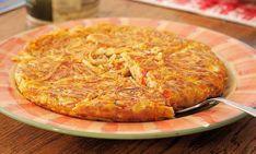 Μακαρονόπιτα: Η πιο νόστιμη και εύκολη συνταγή χωρίς φύλλο Pasta Dishes, Macaroni And Cheese, Waffles, Pork, Food And Drink, Meat, Chicken, Ethnic Recipes, Lunch Time
