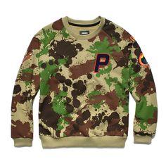 Bluza bez kaptura ORANGE CAMO BLACKDamska bluza w autorski wzrór kamuflażu. Na piersi i rękawach naszywki wykonane różnymi technikami. Orange, Sweatshirts, Sweaters, Fashion, Moda, Fashion Styles, Trainers, Sweater, Sweatshirt