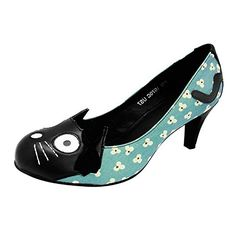 T.U.K. Character, Damen Ballerinas, A8851l, Blau (Blau/Schwarz), EU 41 - Ballerinas für frauen (*Partner-Link) Ballerinas, Pumps, Partner, Kitten Heels, Character, Best Deals, Link, Shopping, Shoes