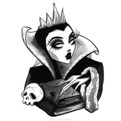 """Listing is for 1 """"EVIL QUEEN"""" art print! 𝔜𝔬𝔲, 𝔪𝔶 𝔮𝔲𝔢𝔢𝔫, 𝔞𝔯𝔢 𝔣𝔞𝔦𝔯; 𝔦𝔱 𝔦𝔰 𝔱𝔯𝔲𝔢. 𝔅𝔲𝔱 𝔖𝔫𝔬𝔴-𝔚𝔥𝔦𝔱𝔢 𝔦𝔰 𝔞 𝔱𝔥𝔬𝔲𝔰𝔞𝔫𝔡 𝔱𝔦𝔪𝔢𝔰 𝔣𝔞𝔦𝔯𝔢𝔯 𝔱𝔥𝔞𝔫 𝔶𝔬𝔲. * All art prints are printed on fine art paper. * 5x7 - Art prints are printed on Semi-Gloss art paper. 8.5x11 - Art prints are printed on Fine Matte art paper. Halloween Drawings, Halloween Art, Pinup, Art Sketches, Art Drawings, Memes Arte, Queen Drawing, Evil Art, Queen Art"""