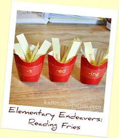 Elementary Endeavers: Reading Fries