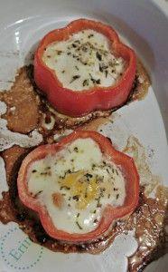 eggs in a nest, paleo breakfast, primal breakfast, gluten free breakfast, celiac breakfast
