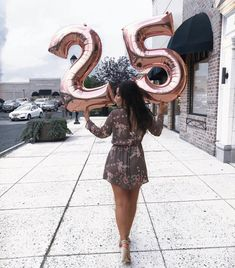 Rose Gold 25 Balloons - 34 Inch Number Balloons, Jumbo Number Balloons, 25 Anniversary Balloons, 25 Birthday Balloons, Quarter of a Century - Products - 35th Birthday, Girl Birthday, Happy Birthday, 25th Birthday Ideas For Her, 25th Birthday Parties, Free Birthday, Birthday Presents, Cute Birthday Pictures, Birthday Balloon Pictures