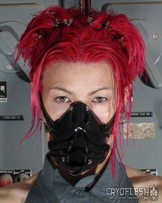 Draconian Cyber Gas Mask