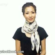 Hier sehen Sie 25 Varianten, um einen Schal zu binden