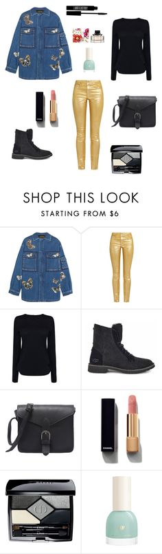 женская мода by malishevan on Polyvore featuring мода, Helmut Lang, Valentino, Étoile Isabel Marant, UGG, Christian Dior, Chanel and Lord & Berry