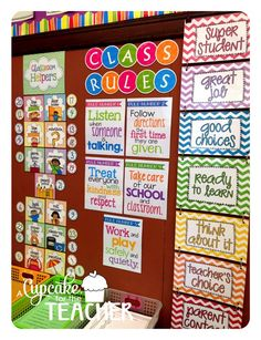 Use numbers for Classroom Jobs- Black and neon . A Cupcake for the Teacher: Classroom Reveal Finally! First Grade Classroom, Classroom Setting, Classroom Design, Future Classroom, School Classroom, Classroom Helpers, Classroom Bulletin Boards, Classroom Organisation, Classroom Displays