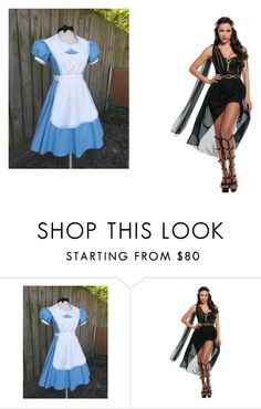 """Halloween costumes"" by jordanbond55 ❤ liked on Polyvore"