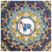 2X 5D Diy Diamond Painting Cross Stitch Christmas snowman 5D Diamond Mosaic D T1