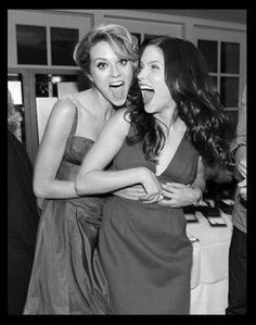 Hilary & Sophia (Peyton and Brooke, One Tree Hill)