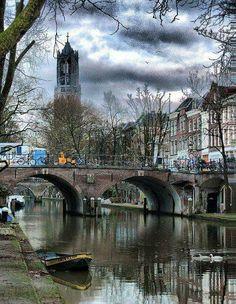 La Torre de la Catedral de Utrecht, Holanda