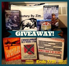 To celebrate History By Zim's 4th birthday, I'm doing a huge history giveaway (valued at over $175). Follow the link to enter! Battle Of Cold Harbor, Day Of My Life, 4th Birthday, Happy Day, World War Ii, Libraries, Giveaway, Africa, Europe