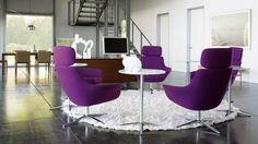 deko wohnzimmer lila purple arivleri viva decor decoration furniture ...