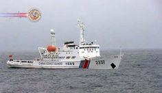 Quatro navios chineses invadem águas territoriais do Japão. Autoridades da Guarda Costeira do Japão disseram que 4 navios de patrulha chineses entraram, tem