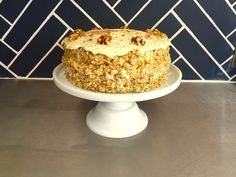 Carrot cake recipe by Mat Riley