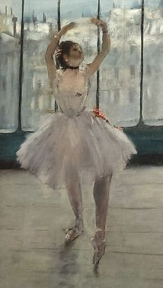 Edgar Degas. See The Virtual Artist gallery: www.theartistobjective.com/gallery/index.html