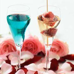 Saint-Valentin : Découvrez la recette Cocktails au Champagne sur cuisineactuelle.fr.