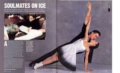 Ekaterina Gordeeva and Sergei Grinkov refers to a pair skating team. Description from imgarcade.com. I searched for this on bing.com/images