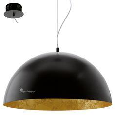 Eglo gaetano 94228 oprawa wisząca - Nowoczesne z dużym kloszem - Lampy wiszące -  Sklep Twoje-lampy.pl