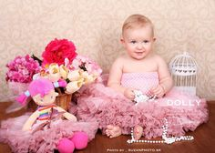 lovely little DOLLY princess wearing Isabella pink petti skirt - more on www. Little Dolly, Princess, Pink, Baby, How To Wear, Skirt, Home Decor, Decoration Home, Room Decor