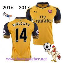 Premier: Maillot Football Arsenal (WALCOTT 14) Exterieur 2016 2017 Replica…