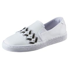 Chaussure Basket Slip-on Cut-out pour femme