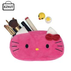 New 2016 Women Cartoon Minions Hello Kitty Zipper Makeup bag Girl Cute Cosmetic Bag travel Storage Bags Make Up Organizer - http://mixre.com/new-2016-women-cartoon-minions-hello-kitty-zipper-makeup-bag-girl-cute-cosmetic-bag-travel-storage-bags-make-up-organizer/ #CosmeticBagsCases