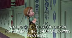 "The emotional crux of ""Do You Want to Build a Snowman?"" 