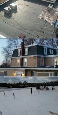Check out J & G Contracting LLC if you want flat roof installation services. They also do siding and gutter installation, among others. Inquire to know their rates.