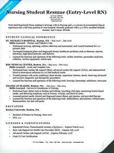 7 Best Nursing Resume Examples images in 2016 | Lpn resume, Nursing ...