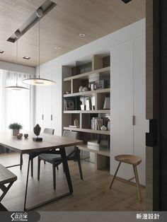 北歐風的裝潢圖片為新澄設計的設計作品,該設計案例是一間預售屋總坪數為52,格局為四房,更多新澄設計設計案例作品都在設計家 Searchome