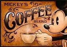 Mickey's Coffee Blend « darrenwilsonart Coffee Words, I Love Coffee, Coffee Quotes, My Coffee, Cheap Coffee, Coffee Corner, Coffee Humor, Coffee Break, Morning Coffee
