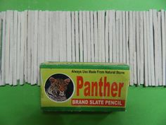 Edible Clay, Slate Board, Slate Stone, Panther, Natural Stones, Pencil, Panthers, Black Panther
